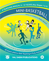 Mini-Basketball England manual cover